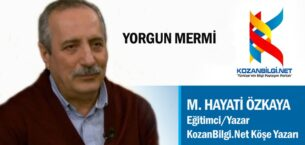 YORGUN MERMİ