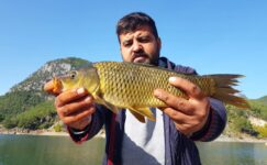"Sazan Avı"" Aya Çıkacak İlk Türk İle"" Carp Fishing With The First Turkish Who Will Go The Moon"