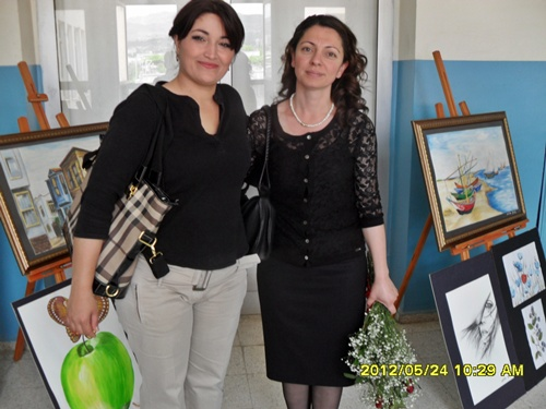 Our Colleague Ms Adile İpek personal art exhibition